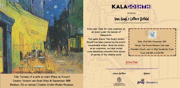 Kalagosthi presents Van Gohj's Letters Retold